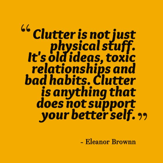 Clutter Image